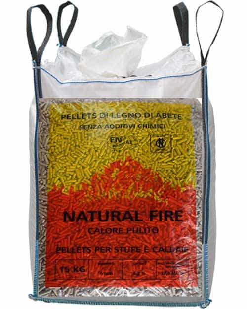 pellet natural fire sfuso